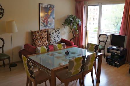 Cozy flat in center of CransMontana - Crans-sur-sierre - Pis