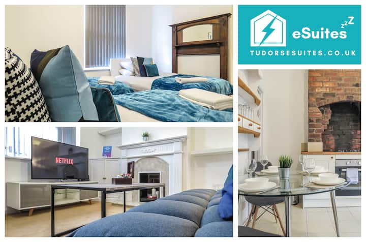 Tudors eSuites Four Beds & Free Parking