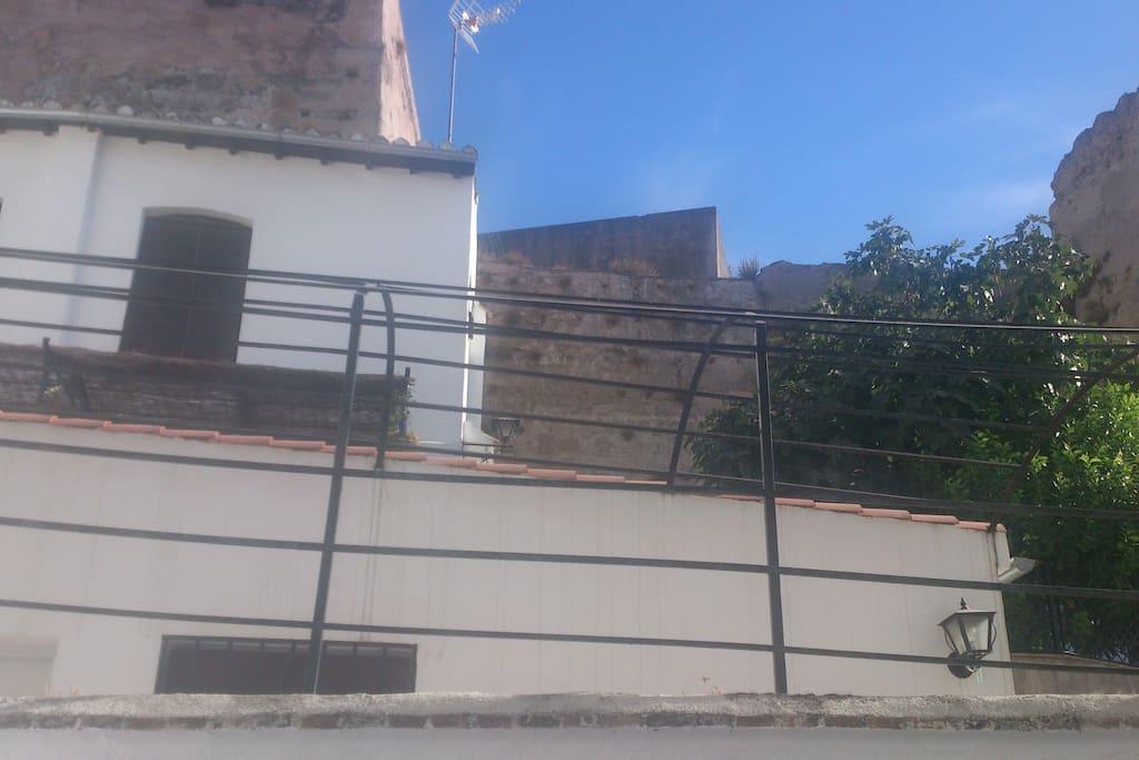 vistas a la muralla