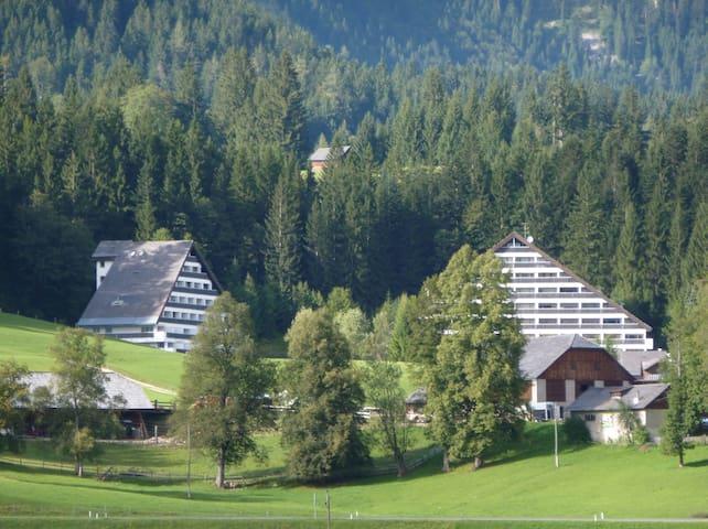 Ferienwohnung mit Hallenbad  - Sonnenalm - Apartamento