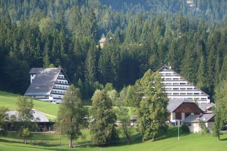 Ferienwohnung mit Hallenbad  - Sonnenalm - Appartement