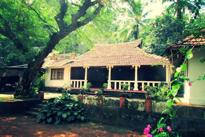 Changaz house, kottayam traditional house