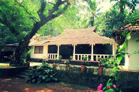 Changaz house, kottayam traditional house