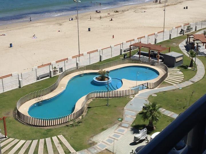 Departamento Moderno y Cómodo a pasos de la Playa