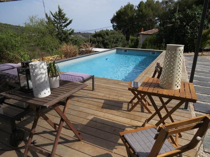 studio indépendant piscine à la Ciotat  (ceyreste)