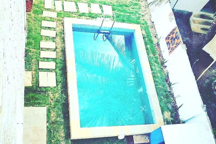 Trident Villas    2BHK with private Pool