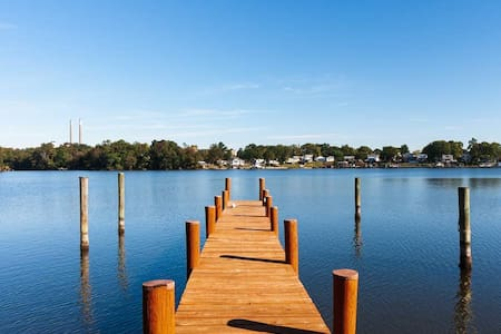 WATERFRONT| 4BR| 1st Floor Master|Family Ready|BWI