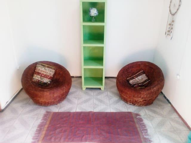 Bella habitacion en cabaña de campo - Putaendo - Appartement