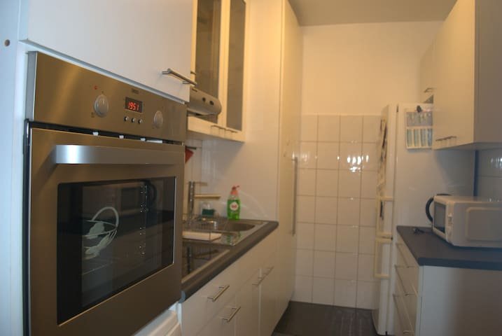Welcome to my Lovely flat in Brussels city - Ganshoren - Apartamento
