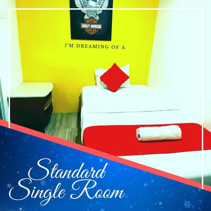 Hotel Aman Nilai / KLIA- Standard Single Room 1pax