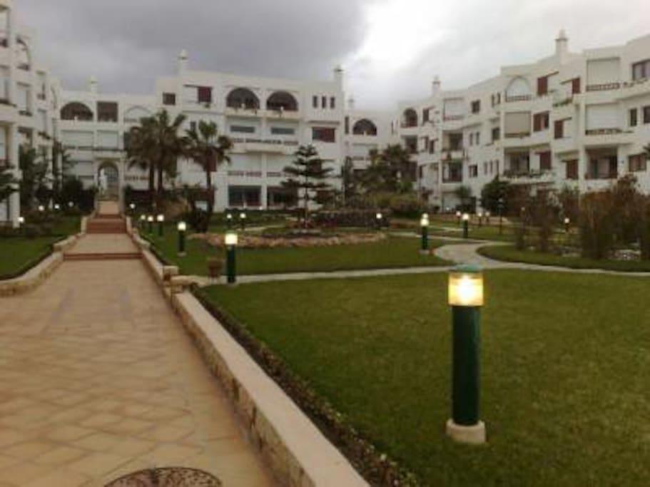 Vue jardins residence