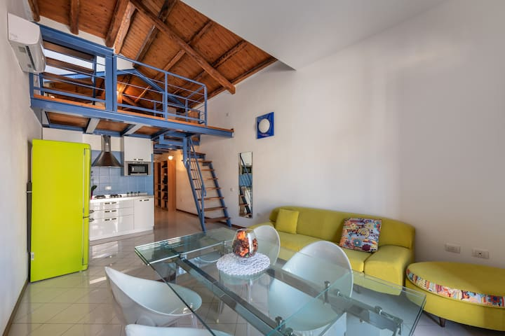 Beautiful duplex in the heart of Cagliari (P1148)
