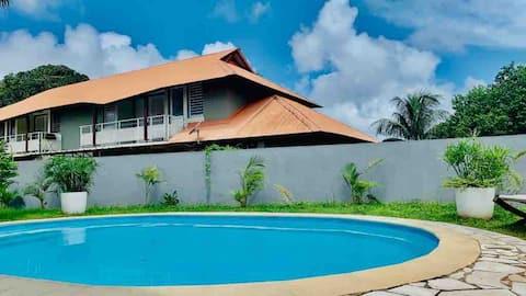 Joli appartement tout confort accès piscine