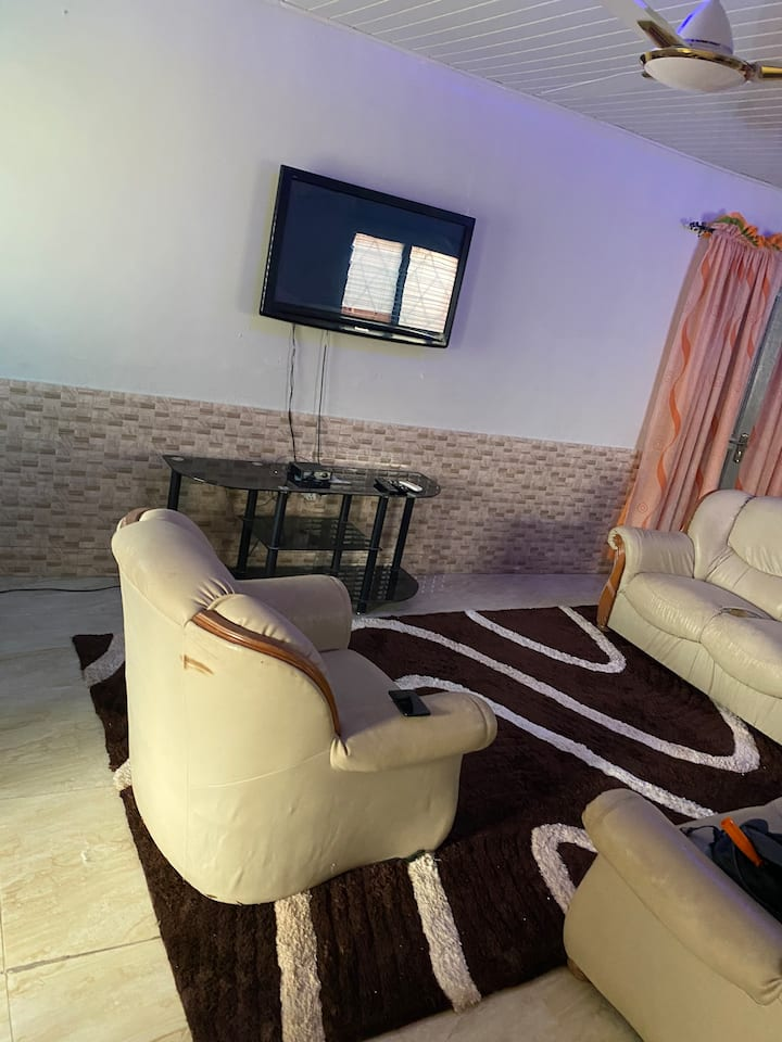 Hall Sized Furnished Single room At New Achimota