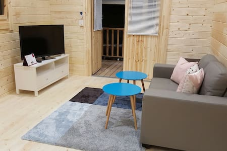 Cosy 2 bedroom cabin - Gosford - Blockhütte