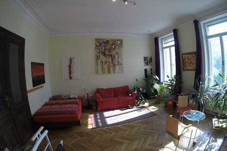 Beautiful and central luxury jugendstil apartment - Wien - Huoneisto