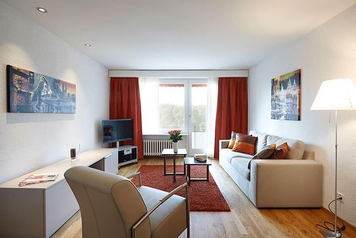1-bedroom apartment, Nordstrasse