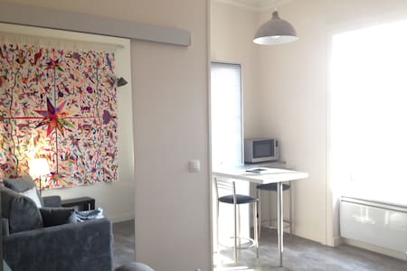 Sud de Lyon, studio en ville et arboré, calme, vue - Oullins