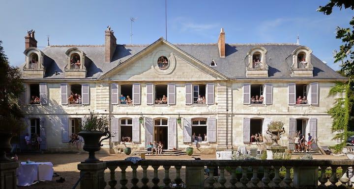 Château XVIII ème 10 mns Tours