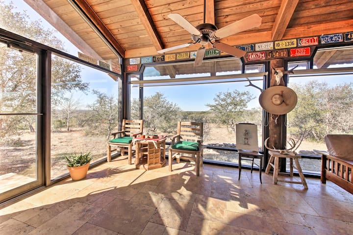The bright, spacious vacation rental boasts 2 sunrooms and tranquil surroundings