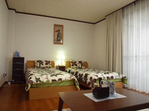 Namba 20min!/Free Car Park/Osaka-dome!☆4th Floor