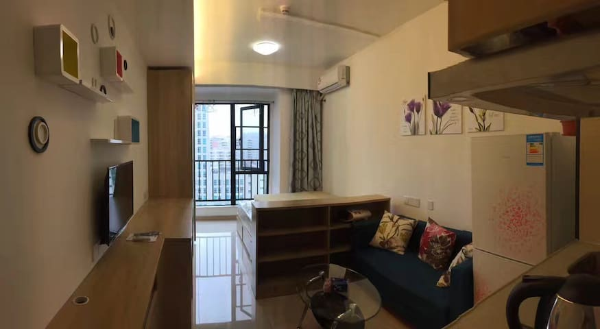Vanke Zhong xin studio apartment,perfect location! - Dongguan - Apartemen