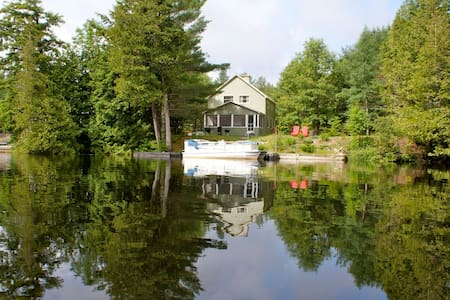 Waterfront Adirondack Home with Dock - Chestertown