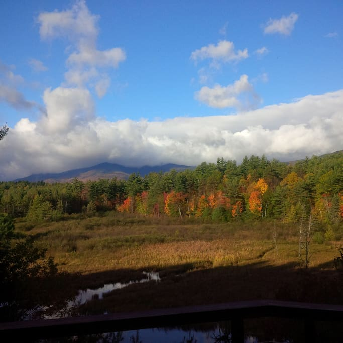 Wake up to this view with your morning coffee and plan your Adirondack adventure