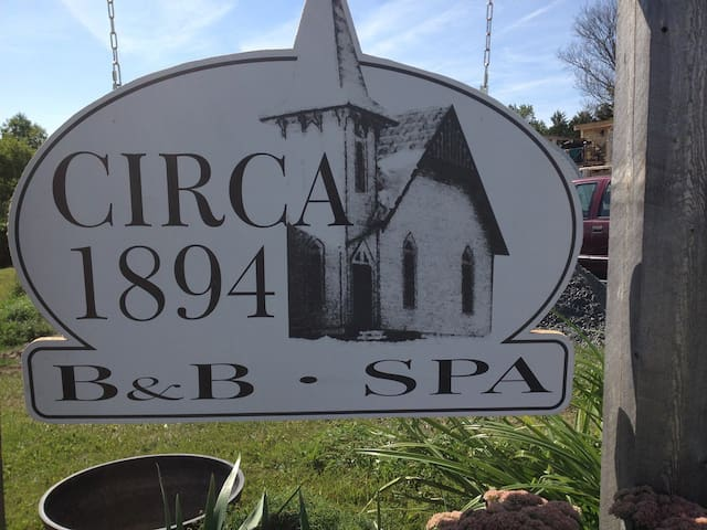Welcome to Circa 1894 B&B and Day Spa