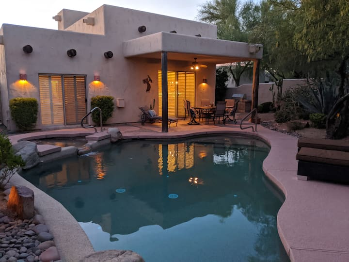 Private Home with Heated Pool/Spa, Mountain View!