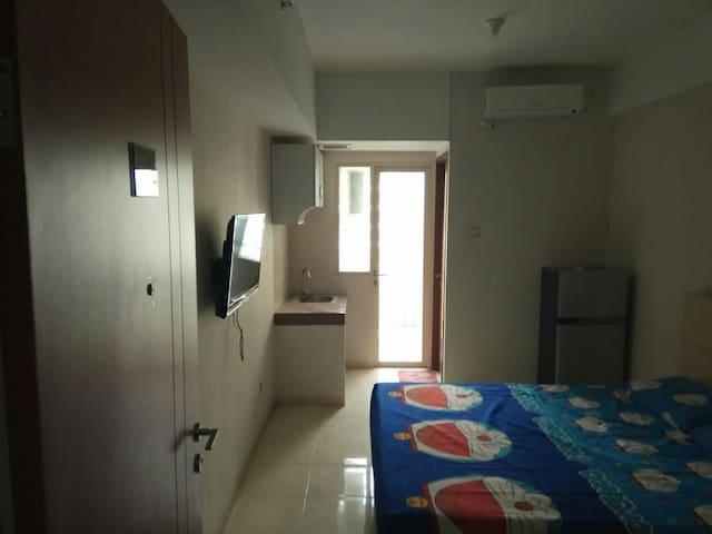 Cozy apartemen studio di ciputat
