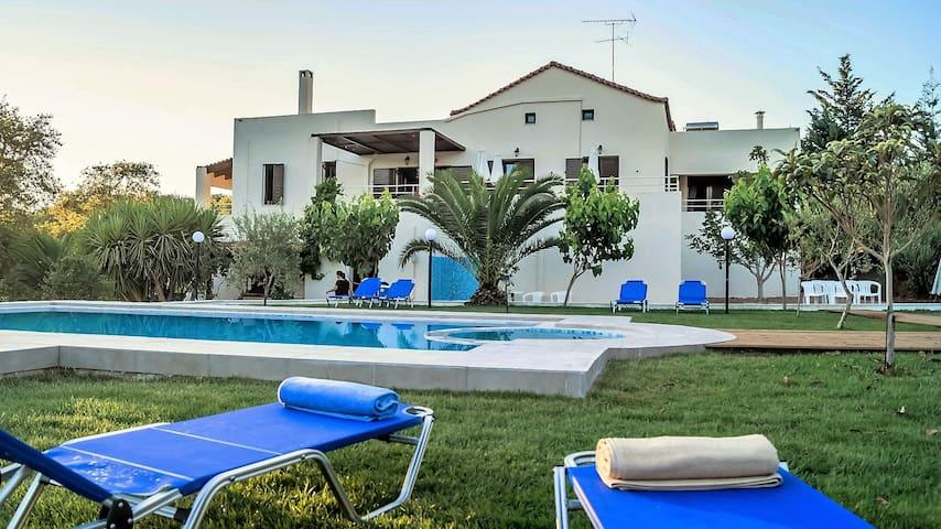 Entspannung in der Villa Nostos bei Rethymno - Prinos - Haus