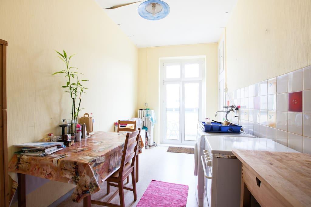 Huge, bright room in Berlin-Mitte!