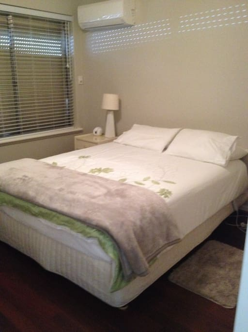 Master Bedroom with QS bed