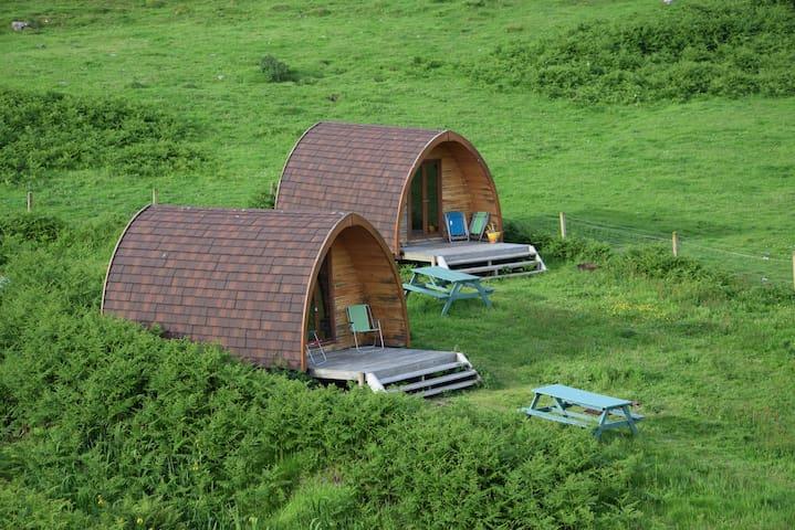 Otter Camping Pod  Isle of Canna