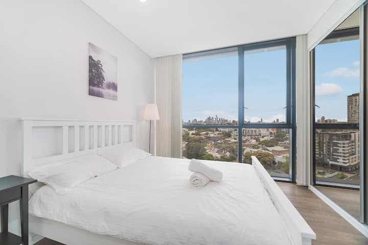 Zetland fully furnished modern 2 bedroom WIFI incl