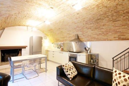 Abruzzo Italy-Modern Medieval Home - Rocca San Giovanni - 独立屋