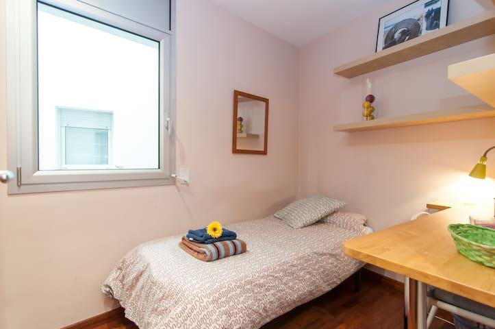 Habitación/baño privado con desayuno en el centro - Barcelona - Bed & Breakfast