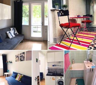Fiatalos modern apartman központi helyen - Balatonfüred