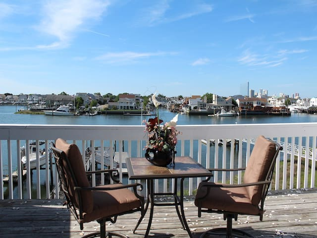 Life on the Bay - Minutes to A.C. & Great Beaches. - Brigantine - Apartament