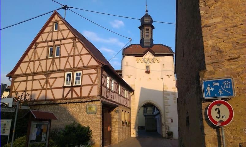 Wohlfühl B&B am Uhrturm Neu-Bamberg - Neu-Bamberg - Penzion (B&B)