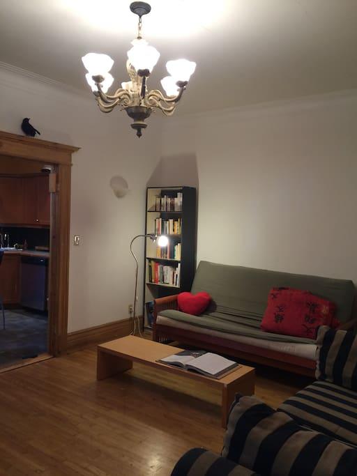 Living-room / Salle de séjour ou salon