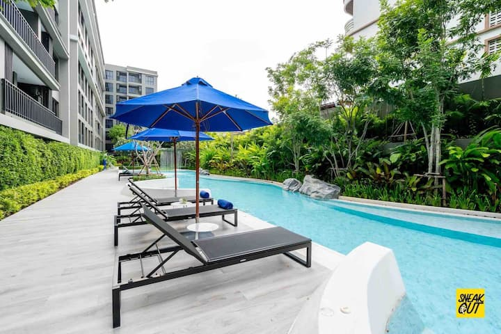 Family Suite New Apartment Huahin City Centre
