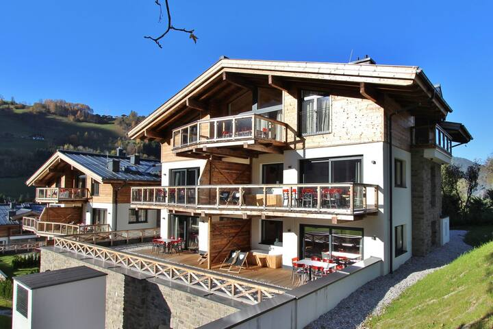 Apartment on an exclusive property in Kaprun with Sauna
