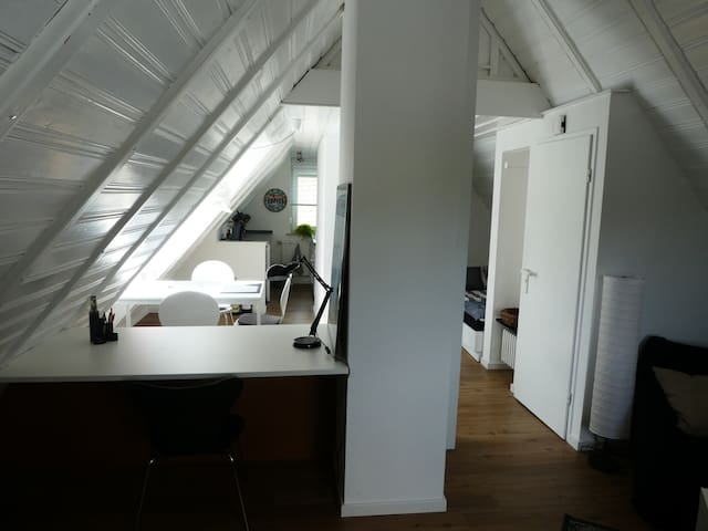 Charmante gemütliche Studiowohnung unter dem Dach