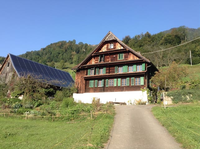 Wonderful Farmhouse with Lake View - Arth - Leilighet