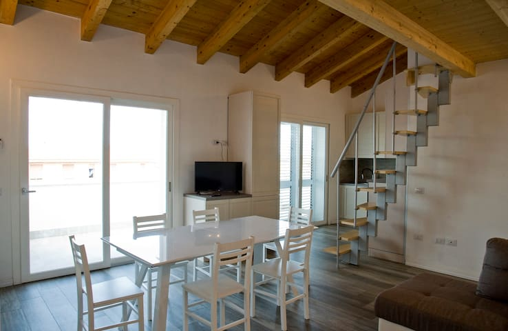 Modern Loft close to the beach