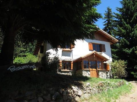 Amplia Casa frente al lago Gutierrez