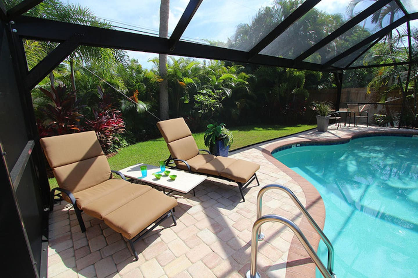 Relax by the pool...you deserve it!