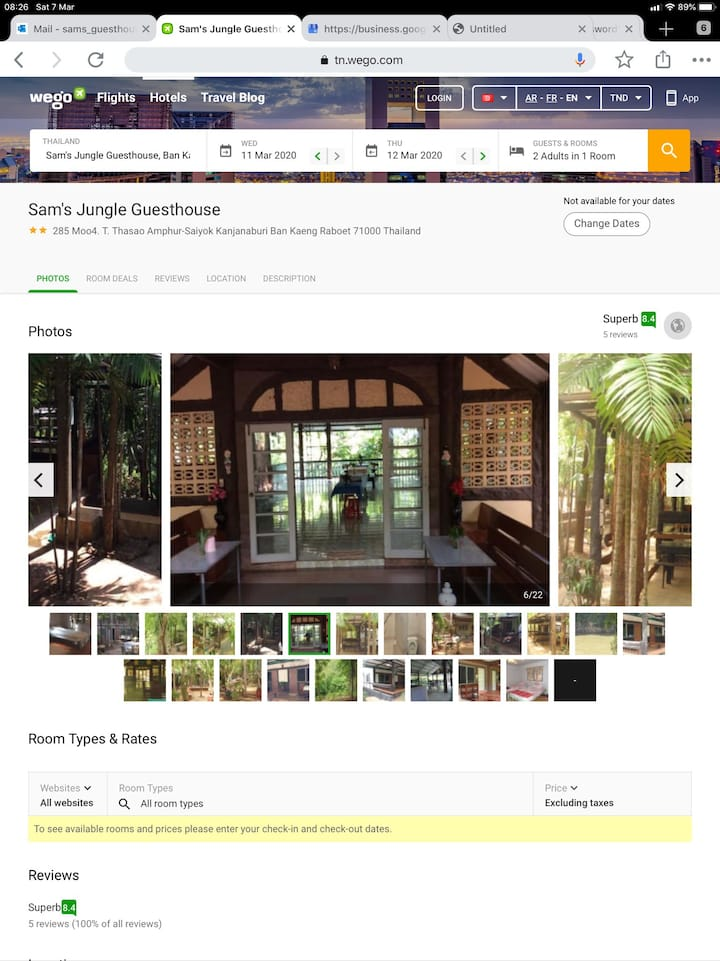 Samjungle Home stay